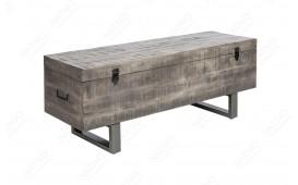 Designer Sitzbank FABRIK GREY 115 cm NATIVO™ Möbel Schweiz