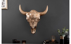 Designer Stierkopf TORRERO GOLD MOSAIC 56 cm