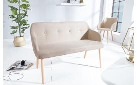 Designer Sitzbank SQUARE BEIGE