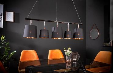 Lampada a sospensione LEVELTY BLACK-GOLD 100 cm NATIVO™ Möbel Schweiz
