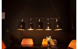 Designer Hängeleuchte LEVELTY BLACK-GOLD 100 cm NATIVO™ Möbel Schweiz