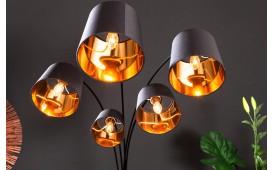 Designer Stehleuchte LEVELTY BLACK-GOLD 202 cm NATIVO™ Möbel Schweiz