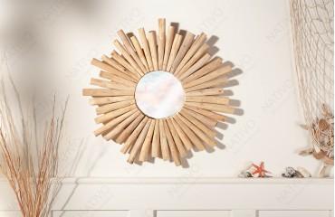 Specchio di design WOOD 60 cm NATIVO™ Möbel Schweiz