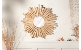 Miroir Design WOOD 60 cm NATIVO™ Möbel Schweiz