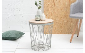 Table basse Design CAGE II GREY EN STOCK