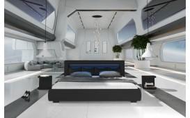 Letto di design MOON con illuminazione