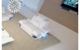 Sessel MYSTIQUE mit LED Beleuchtung (Weiss) AB LAGER NATIVO™ Möbel Schweiz