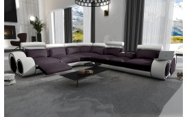 Divano di design BARCA CORNER con funzione relax