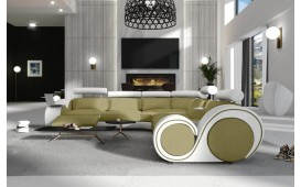Canapé Design BARCA CORNER avec fonction relax
