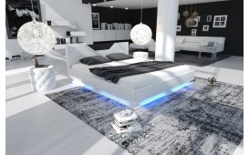 Designer Lederbett ARTEMIS mit Beleuchtung by ©iconX STUDIOS