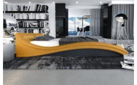 Designer Lederbett PIONEER NATIVO™ Möbel Schweiz