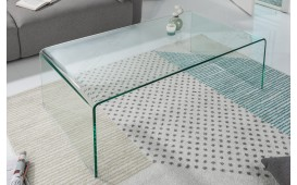 Table basse Design CLEAR 110 cm
