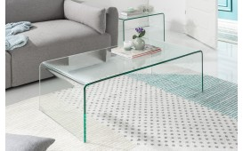 Table basse Design CLEAR Set 2