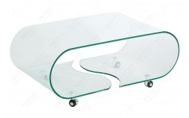 Table basse Design CLEAR ROND