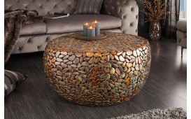 Tavolino di design BLOCK GOLD 82 cm