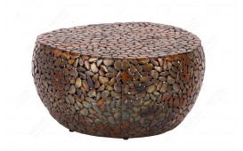 Table basse Design BLOCK GOLD 82 cm