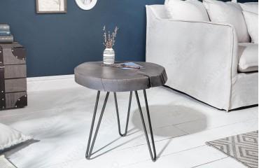 Designer Beistelltisch DOA GREY 43 cm-NATIVO™ Möbel Schweiz