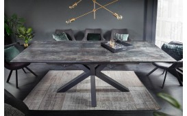 Tavolo da pranzo LIMBO DARK 180-225 cm