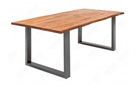 Table Design ALMERE GREY 160 cm