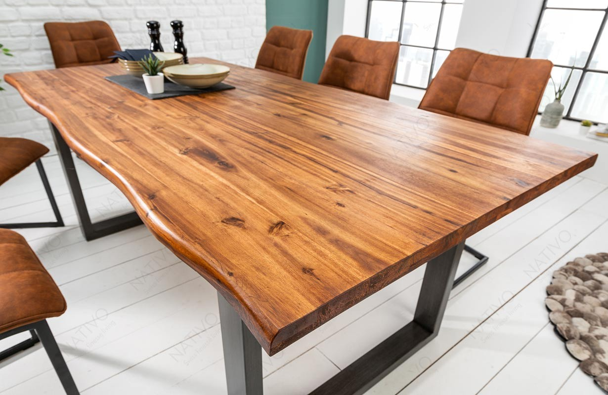 Esstisch ALMERE GREY XL bei NATIVO Möbel Schweiz günstig kaufen