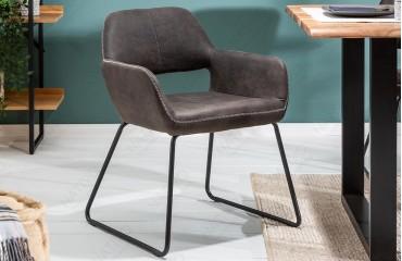 2 x Designer Stuhl SHELBY DARK GREY-NATIVO™ Möbel Schweiz