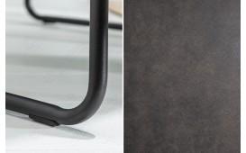 2 x Chaise Design SHELBY DARK GREY