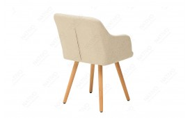 2 x Chaise Design SQUARE BEIGE
