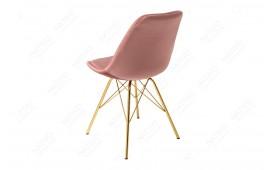 2 x Designer Stuhl SCANIA RETRO ROSE-GOLD-NATIVO™ Möbel Schweiz
