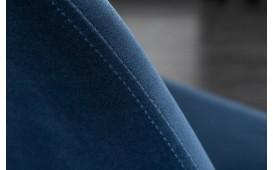 2 x Chaise Design SCANIA RETRO BLUE-GOLD
