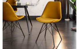 2 x Designer Stuhl SCANIA RETRO YELLOW