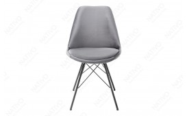 2 x Chaise Design SCANIA RETRO SILVER-GREY