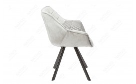 2 x Sedia di design SOLACE GREY