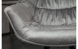 2 x Chaise Design SOLACE GREY