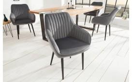 2 x Chaise Design PIEMONT GREY