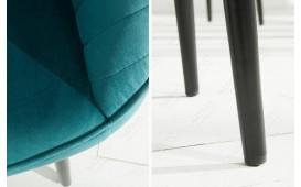 2 x Chaise Design PIEMONT BLUE