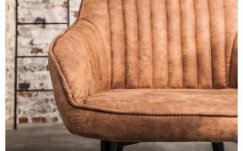 2 x Chaise Design PIEMONT LIGHT BROWN