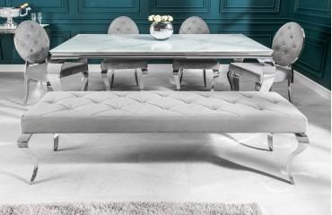 Banc Design ROCCO SILVER 170 cm