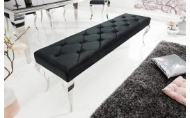 Designer Polsterbank ROCCO BLACK 170 cm
