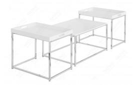 Designer Couchtisch UNITY WHITE SET 3-NATIVO™ Möbel Schweiz