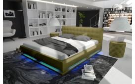 Designer Lederbett SYNTEX-NATIVO™ Möbel Schweiz