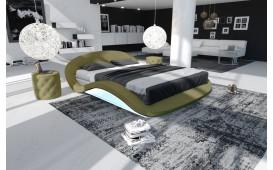 Designer Lederbett VOYAGER-NATIVO™ Möbel Schweiz