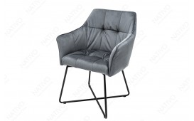 Chaise design RIFLE GREY