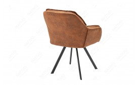 Chaise Design MOPE BROWN