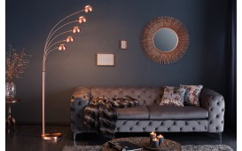 Lampadaire design FIVES COPPER
