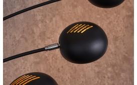 Lampadaire design FIVES BLACK