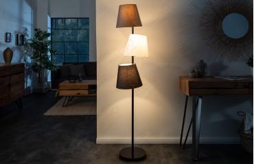 Designer Stehleuchte LEVELTY BLACK-GREY-NATIVO™ Möbel Schweiz