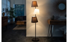 Lampadaire design LEVELTY BLACK-GREY