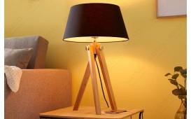 Designer Stehleuchte STAND BLACK 64 cm