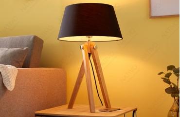 Lampada da terra STAND BLACK 64 cm