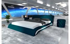 Designer Lederbett LUISA-NATIVO™ Möbel Schweiz